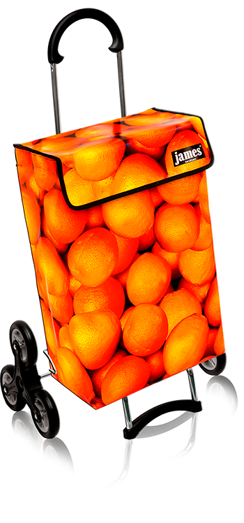 orange james - dreikranz treppensteiger