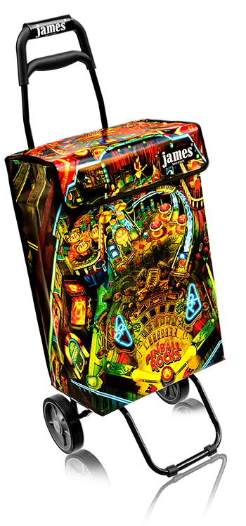 pinball rocks james - flex casterräder