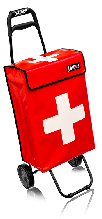 swiss james - casterräder